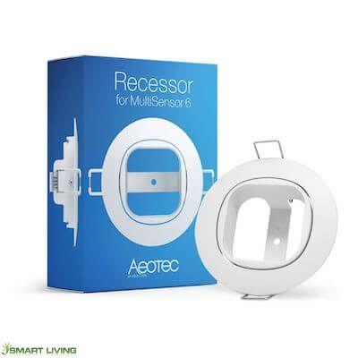Aeotec Recess Mounting Bracket / Recessor For Multisensor 6