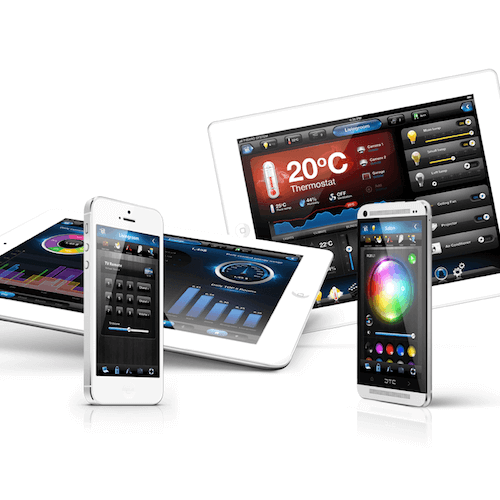 Fibaro HC2 app interface