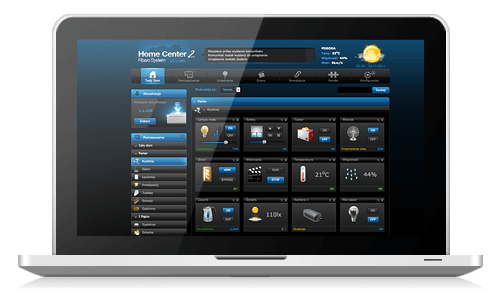 Fibaro HC2 interface