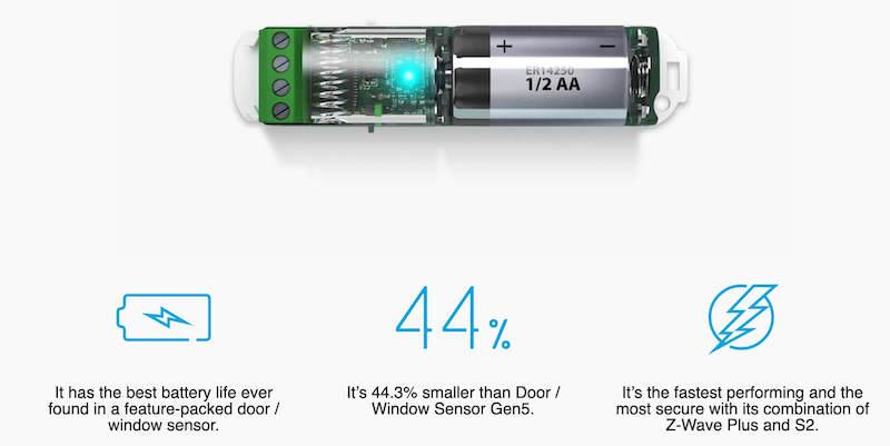 Aeotec door window sensor 7