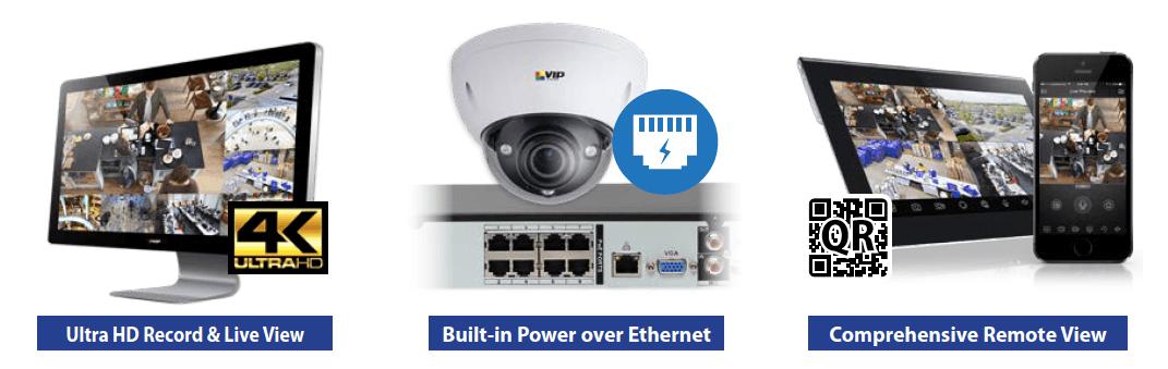 VIP Vision Camera NVR System